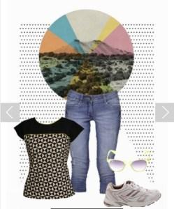 jeans capri by Limeroad