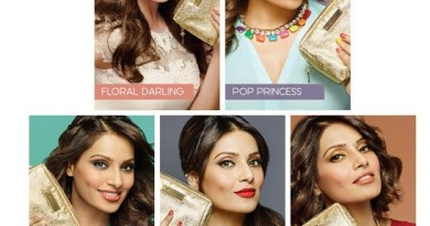 bipasha basu for Faces & The Trunk Label
