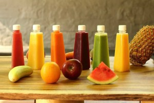 fresh fruit juices at Uba Tuba