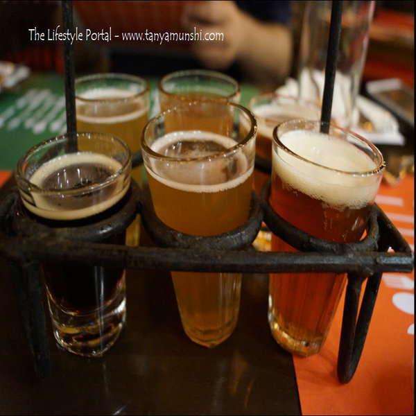 Sample the in house signature beers @ The Biere Club
