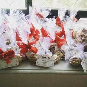 10kg treats packed as return gifts for a pet party