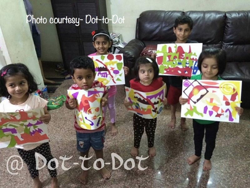 Happy childhoods at Dot-to-Dot