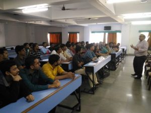 Avishek at the TCS - Ninja Prep Mini Workshop,