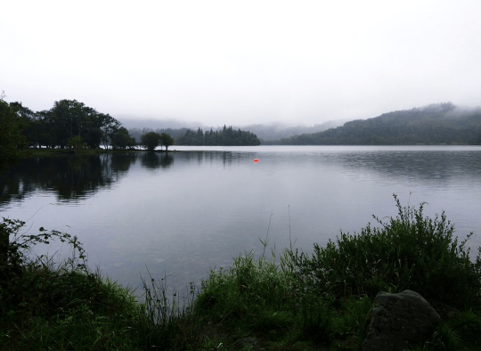 Loch Ard, which was a short walk away from the resort. Photo courtesy: Meghna Golder