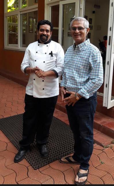 Chef Ramkrishna and Devang Mehta. Photo Credit Poyani Mehta