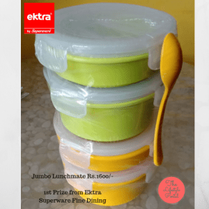 1st prize_Jumbo Lunchmate Rs.1600 by Ektra