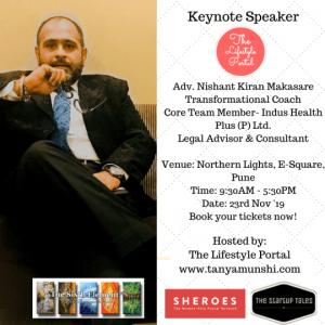 Adv. Nishant Kiran Makasare, Transformational Coach, Legal Advisor & Consultant