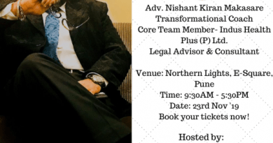 Adv. Nishant Kiran Makasare, Transformational Coach, Legal Advisor & Consultant