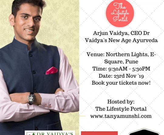 Arjun Vaidya, CEO, Dr Vaidya's New Age Ayurveda