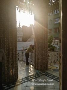 The beautiful Jain Temple in Kolkata. Photo credit: Tanya Munshi