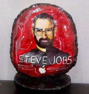Portrait of Steve Jobs. Artwork by: Harshita Sharma