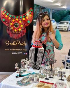 Panchali Konwar Gohain at the IndiPride Market at Teeyan Festival