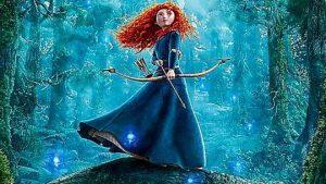 Brave. Photo source: Disney Pixar's BRAVE Trailer (Princess Merida - Animation)