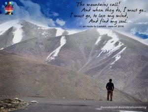 Following his heart, Umang in Ladakh, June 2016