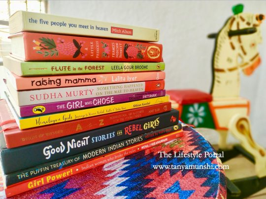 Top 11 Books to read for first time readers. Photo courtesy: Tanya Munshi