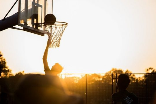Why I love playing Basketball. Image by Varun Kulkarni from Pixabay