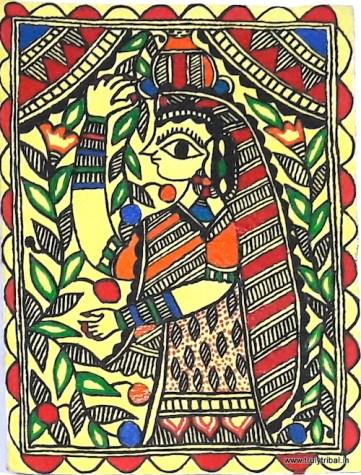 Indian Art form: Madhubani