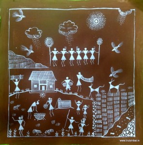 Indian Tribal Art: Warli