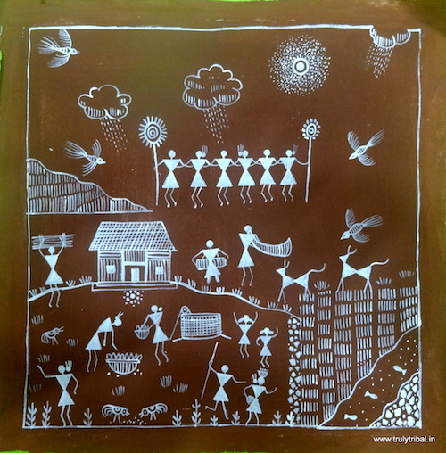 Indian Tribal Art: Warli