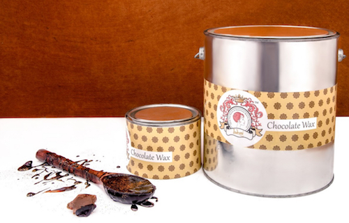 Luxurious chocolate wax from Indrani Cosmetics