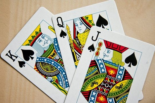 Playing cards with family & friends. Image by PDPics from Pixabay