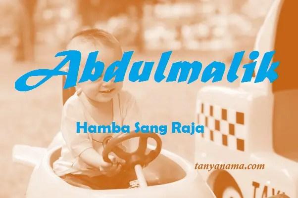 arti nama Abdulmalik