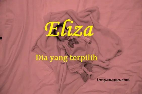 Arti Nama Eliza Dan Rangkaian Namanya