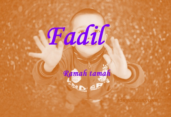 arti nama fadil