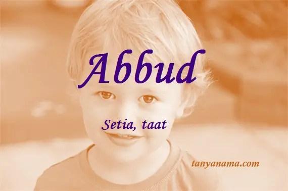 arti nama Abbud