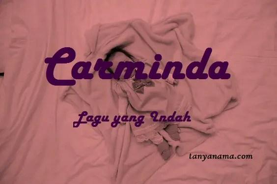 arti nama Carminda