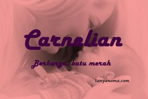 arti nama Carnelian