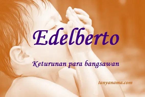 arti nama Edelberto