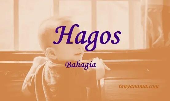 arti nama Hagos