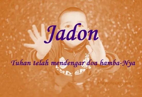 arti nama Jadon