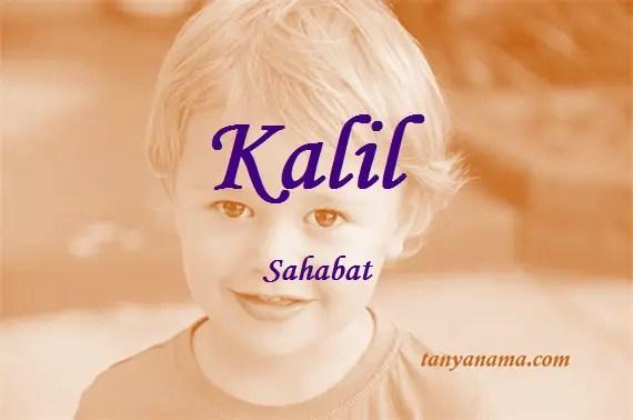 arti nama Kalil
