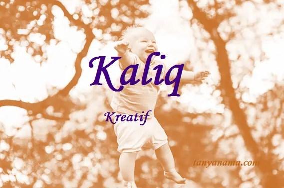 arti nama Kaliq