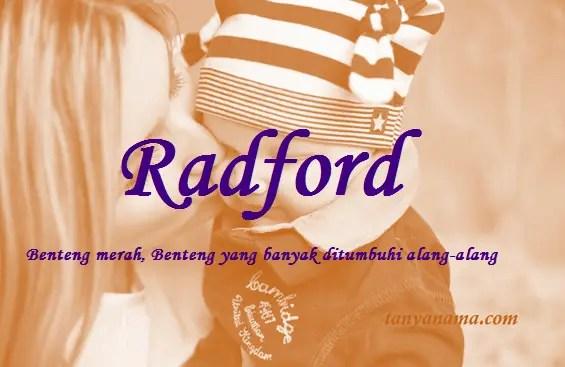 arti nama radford