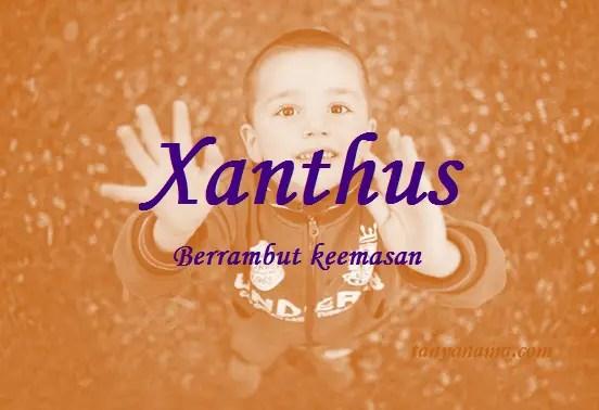 arti nama xanthus