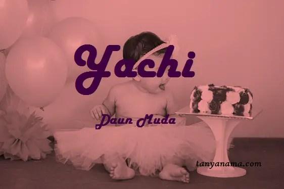 arti nama yachi
