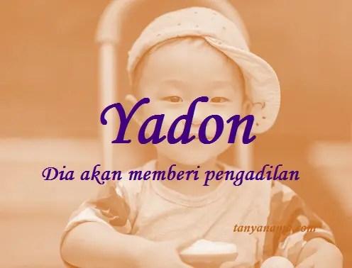 arti nama yadon