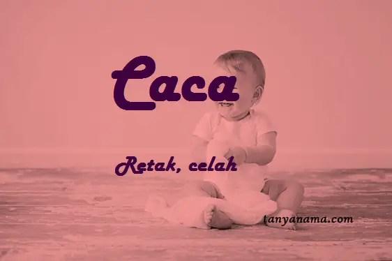arti nama Caca