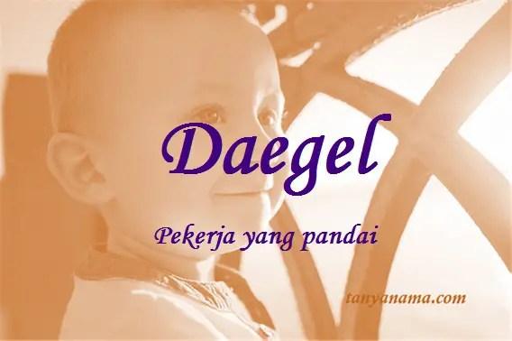 arti nama Daegel