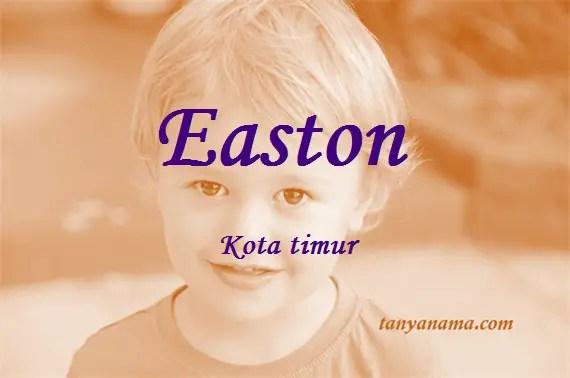 arti nama Easton