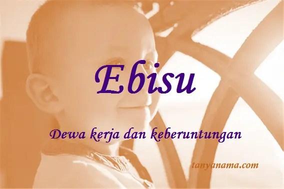 arti nama Ebisu