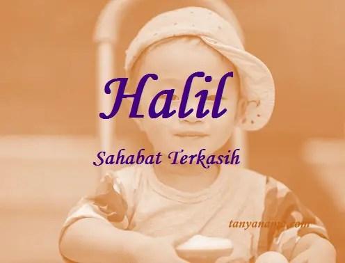arti nama Halil