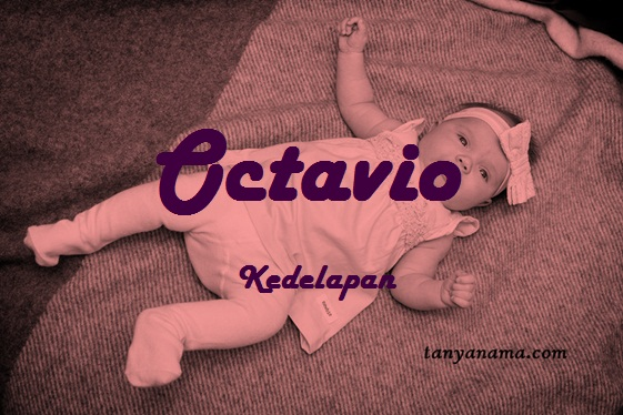 arti nama Octavio