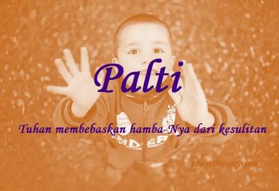 arti nama Palti