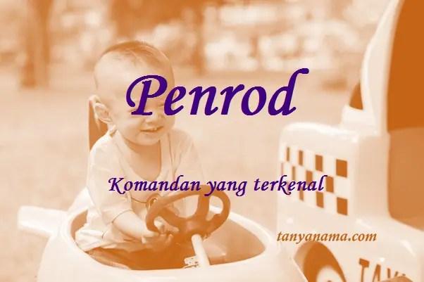 arti nama Penrod