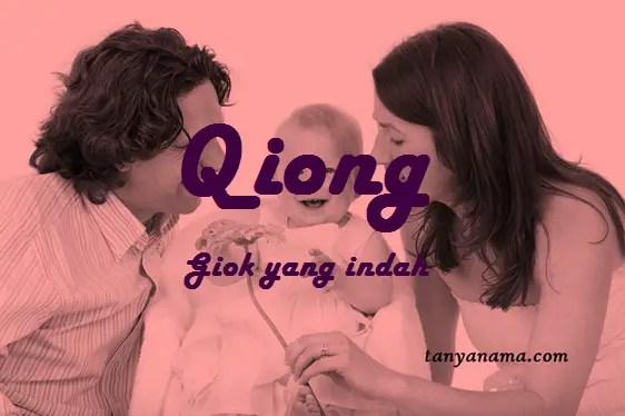 arti nama Qiong
