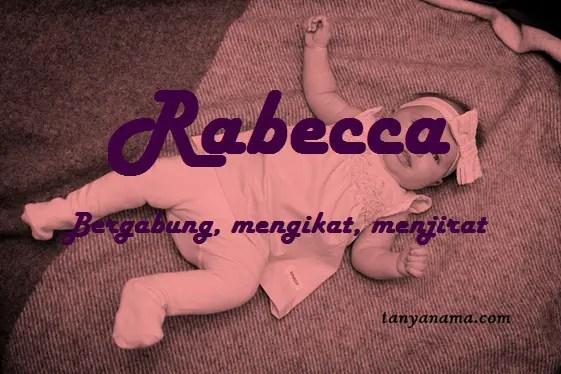 arti nama Rabecca